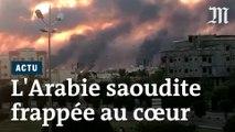 Arabie saoudite: les images des deux sites pétroliers attaqués