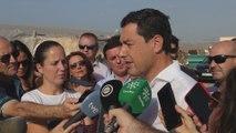 La Junta calcula en 2.400 hectáreas afectadas en Almería y Granada y evalúa Málaga