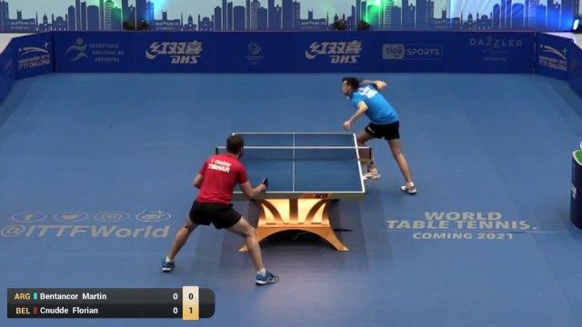 Florian Cnudde vs Martin Bentancor   2019 ITTF Paraguay Open Highlights (U21-1/2)