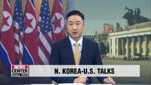 Working-level talks with U.S. could take place within few weeks: N. Korea's Foreign Ministry