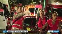 Paris : un homme meurt dans l'incendie d'un Ehpad