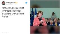 Nathalie Loiseau favorable à l'accueil d'Edward Snowden en France