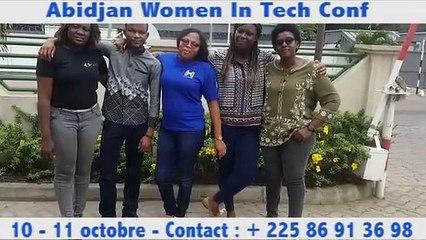 Nos championnes et champions  du code pour Abidjan Women In Tech Conf