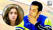 Salman Khan Says NO To KISSING SCENES With Alia Bhatt?