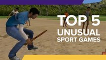 5 Unusual Sports Games