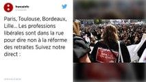 Réforme des retraites : Plusieurs milliers d'avocats manifestent à Paris