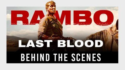 Rambo_Last Blood - Behind the Scenes - Sylvester Stallone