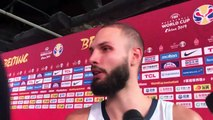 Basket-Ball - Evan Fournier on France winning bronze beating Team USA loss to Argentina and FIBA World Cup