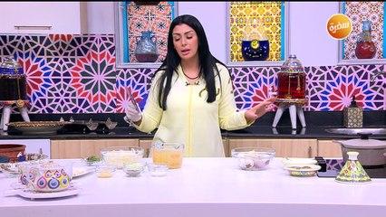 طريقة تحضير شوربة بصل بزيت الزيتون | زينب مصطفي