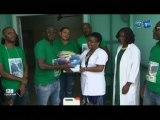 RTG/Don de produits de premières nécessités de l'ONG active pour les patients du 3ème âge