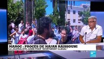 """Procès de Hajar Raissouni : """"elle a été victime d'une stratégie politique qui vise à la décrédibiliser"""""""