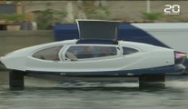 Paris: Nouveaux tests des «taxis volants» sur la Seine