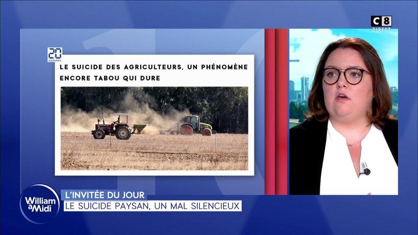 L'invitée du jour : Camille Beaurain -  Le suicide paysan, un mal silencieux