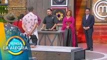 ¡Cocineros y famosos se enfrentaron en 'MasterChef: La Revancha'! | Venga La Alegría