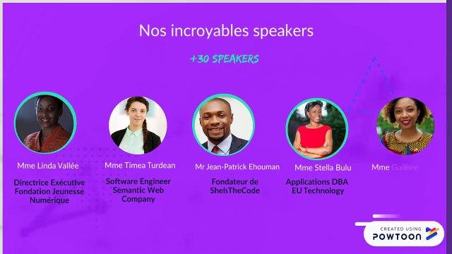 Abidjan Women In Tech Conf 2019 - Bande annonce