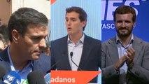 Cs propone al PP abstenerse si Sánchez cumple tres compromisos
