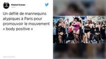 Rondes, petites, âgées de 18 à 65 ans : à Paris, un défilé atypique pour promouvoir le « body positive »