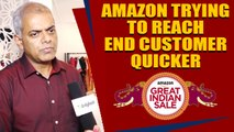 AMAZON IS SEEING NO SIGNS OF SLOWDOWN : Manish Tiwary,Vice President Amazon India