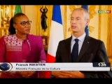 ORTM/Culture - Séance de travail sur le réchauffement de l'axe Bamako - Paris entre les Ministres de la culture française et Malienne à Paris
