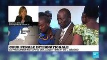 CPI : La procureure fait appel de l'acquittement de Laurent Gbagbo
