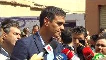 """Sánchez no ve """"ningún obstáculo real"""" para que Cs y PP se abstengan"""