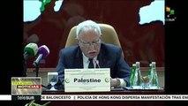 Convoca a la unidad canciller palestino para frenar abusos israelíes