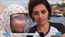 """Marseille : les """"enfants de la Lune"""" embarqués pour une plongée nocturne"""