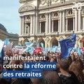 Réforme des retraites: Les professions libérales dans la rue