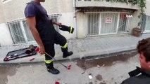 Bursa'da 1 buçuk metrelik yılan paniği