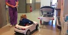 Des voiturettes pour enfants malades ont été volées dans une clinique du Mans