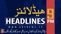 ARYNews Headlines |NAB summons CM Murad Ali Shah tomorrow| 9PM | 16 SEPT 2019