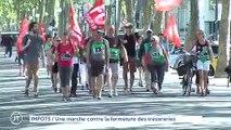 IMPOTS :  Une marche contre la fermeture des trésoreries