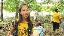 """""""غريتا تونبرغ التايلاندية"""" ابنة الـ12 عاما تخوض حربا ضد تلوث البلاستيك"""