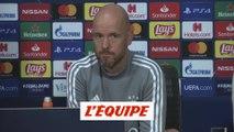 Ten Hag «connaît ce qu'il y a a savoir sur Lille» - Foot - C1 - Ajax