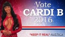 Cardi B Gets POLITICAL With Bernie Sanders