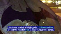 Bat-Signal to Shine in Major Cities on Batman Day