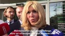 Brigitte Macron fait la rentrée de son école pour jeunes adultes