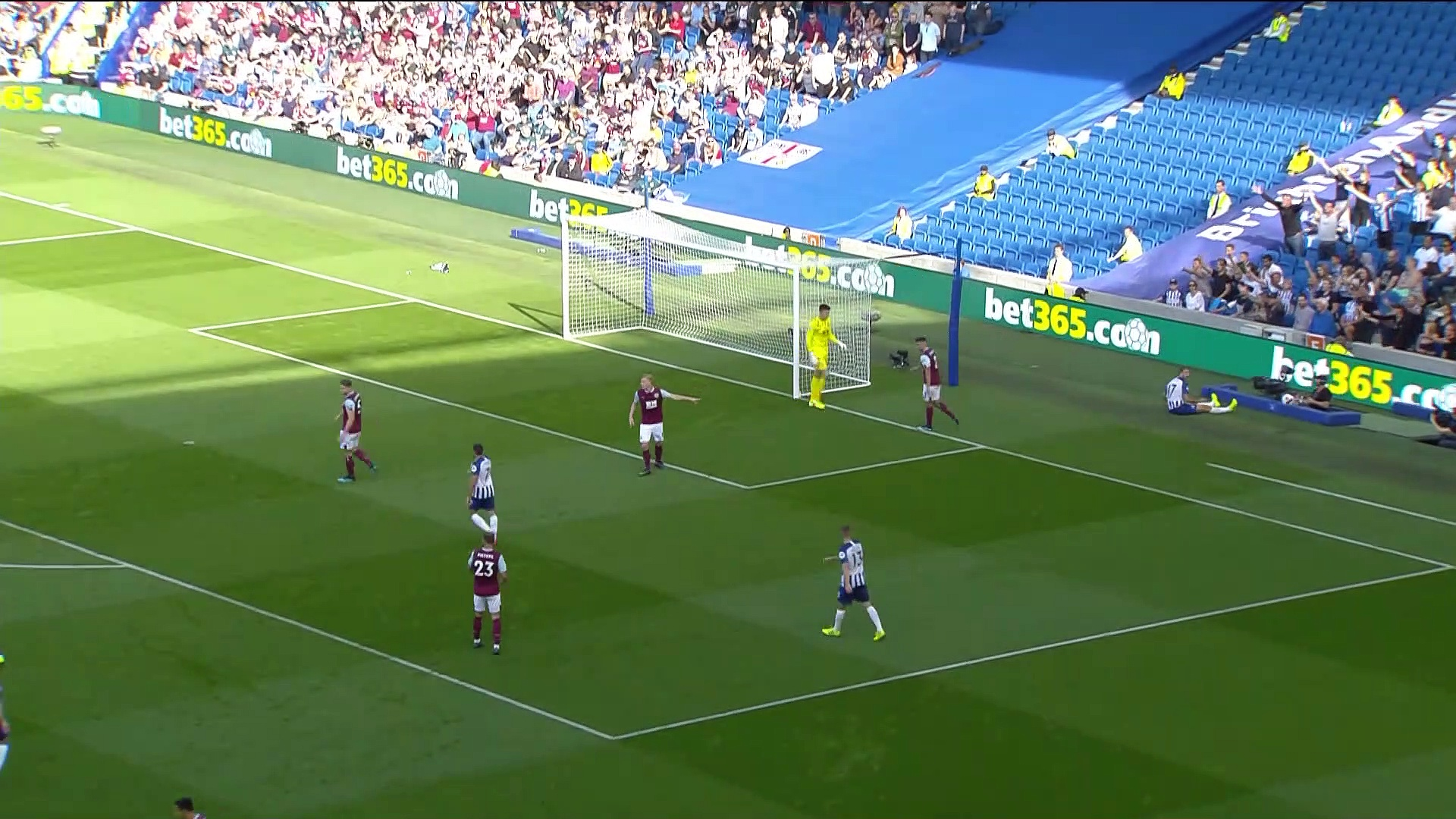 5. Hafta / Brighton - Burnley: 1-1 (Özet)