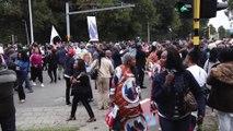 Des centaines de sympathisants ont salué la venue du président congolais en Belgique