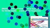 [READ] Dental Materials  Clinical Applications for Dental Assistants and Dental Hygienists