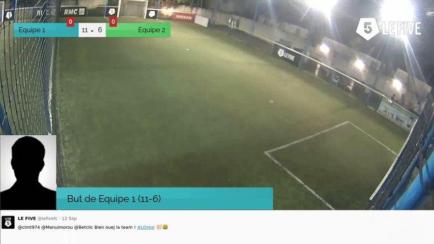 But de Equipe 1 (11-6)