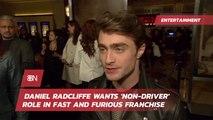 Daniel Radcliffe Has New Movie Desires