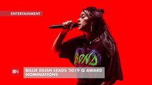 Billie Eilish Gets Many Q Award Nominations