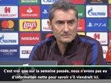 Groupe F - Valverde prudent avec Messi