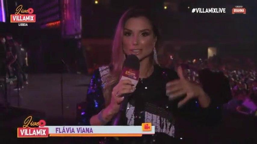 Pré show Wesley Safadão Villa Mix Lisboa - Flávia Viana 13.09.2019
