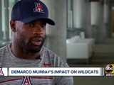 DeMarco Murray adjusting to new role as running backs coach at the University of Arizona