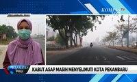 Kabut Asap Masih Menyelimuti, Presiden Jokowi: Riau Berstatus Siaga Asap