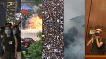 100 days in a minute: A snapshot of Hong Kong's pro-democracy protests