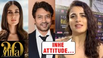 Radhika Madan On Working With Irrfan Khan & Kareena Kapoor In Angrezi Medium | IIFA ROCKS 2019