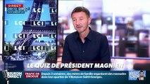 """Quel personnage politique né à Levallois refuse de """"verser une larme de crocodile"""" sur le sort des Balkany ?... Relevez le quiz du Président Magnien ! - 17/09"""